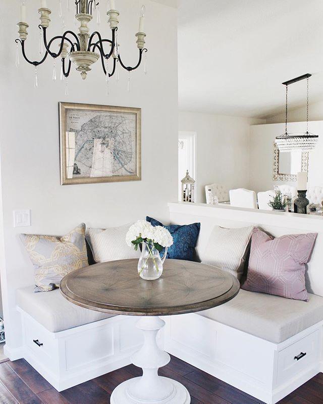 20 Exquisite Corner Breakfast Nook Ideas in Various Styles – fancydecors