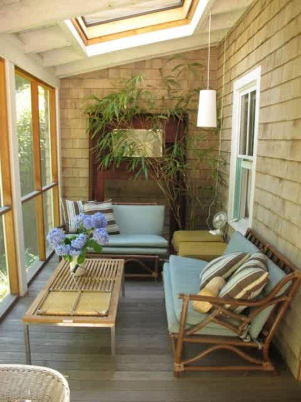 20 Small And Cozy Sunroom Design Ideas   Home Design And Interior