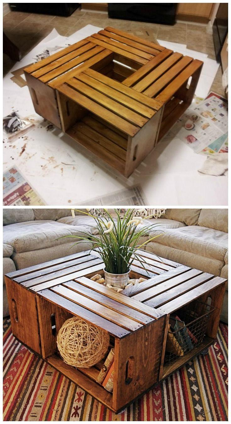 22 tables basses bricolage pour montrer votre savoir-faire – Page 17 sur 23 – #Coffee #c … – Wood Design