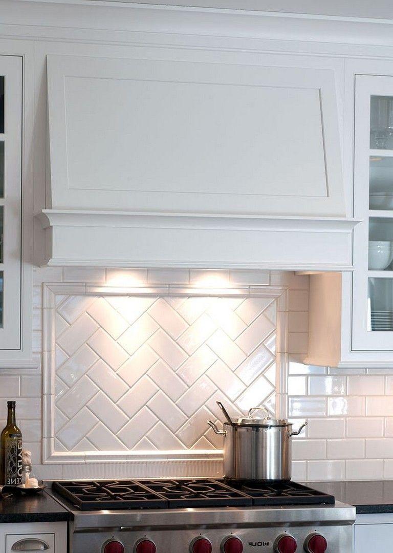25+ Stunning Kitchen Backsplash with White Cabinets Ideas