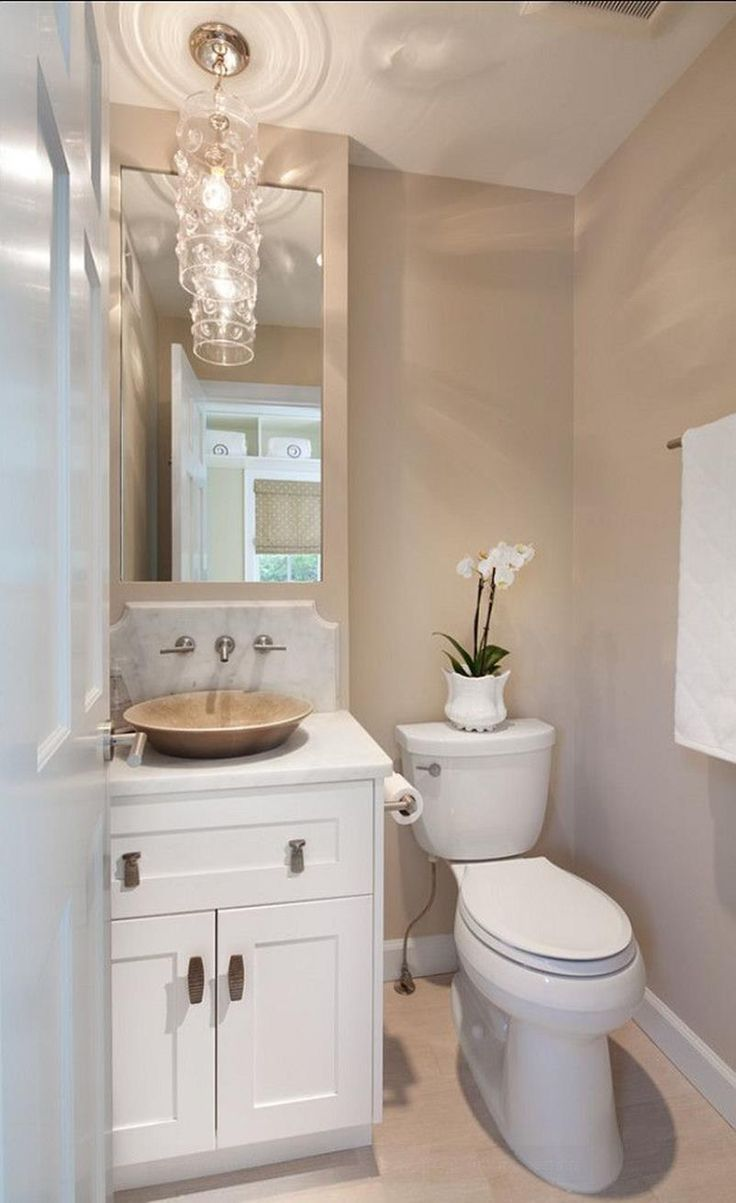 42 Best Paint Colors for Small Bathrooms , Your Bathroom look Clean   Bathroom Paint Colors F…