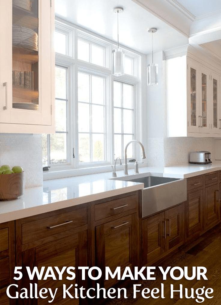 5 Ways to Make Your Galley Kitchen Feel Huge – Builders Surplus