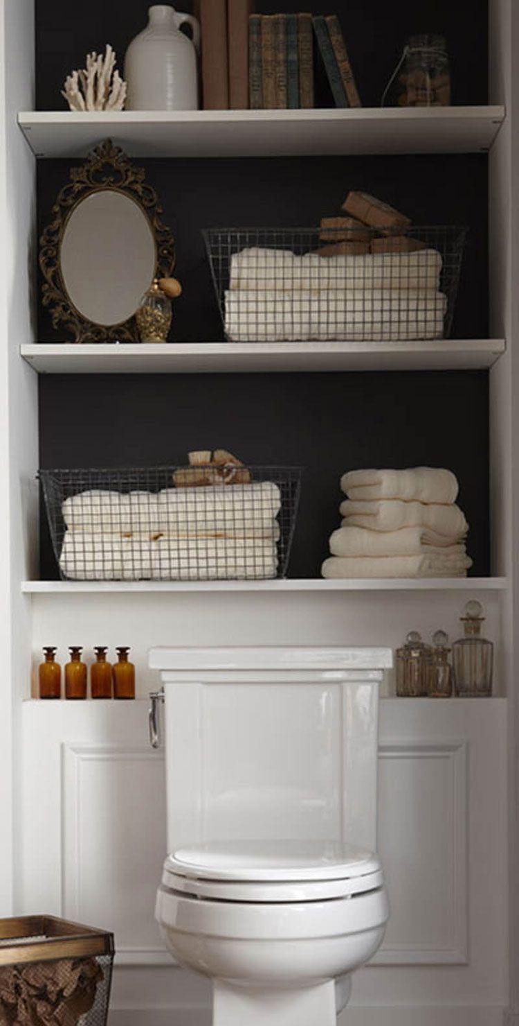 67 Best Small Bathroom Storage Ideas: Cheap Creative Organization (2019)