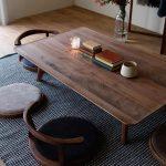 "@hirashima_ins on Instagram: ""AGILE Zataku #Furniture #Interior #Table #Seat Chair #Hanger Rack #Walnut #Fukuoka #Yanagawa #furniture #interior #home #casa #design #minimal #wood #walnut # table…"""