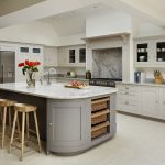 A lovely neutral colour palette in this modern kitchen. This is the Harvey Jones...