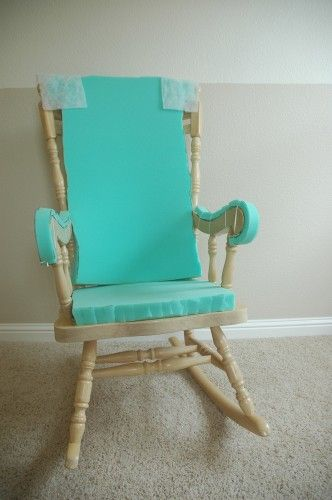 Adding Comfort to a Wooden Rocking Chair – Part One – Makely