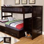 Amani Full Over Full Bunk Bed with Trundle