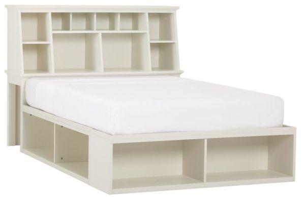 Amazing Bed with Storage Headboard