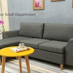 Amazing offer on Sectional Sofa, L-Shape Sectional Couch  Reversible Chaise, Couches  Sofas  Modern Linen Fabric  Small Space (Grey) online - Favoritefurniture