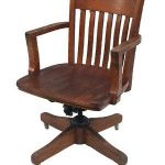 Antique Wooden Office Chair