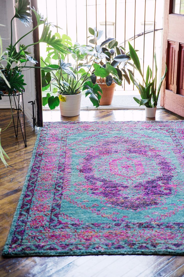 Area Rugs + Throw Rugs