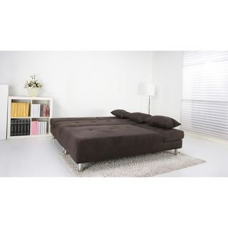 Atlanta Chocolate Convertible Sectional Sofa Bed | Overstock.com Shopping – The Best Deals on Sectional Sofas