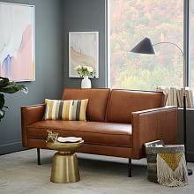Axel Leather Sofa (76″)