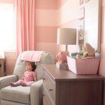 Baby Girl Pink Striped Nursery - Project Nursery