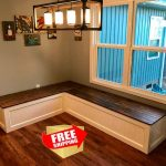 Banquette,Corner bench,kitchen seating,L shaped bench,breakfast nook, kitchen nook,bench,FREE SHIPPING,..!!!