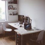 Be More Productive with 25 Wonderful Two Person Desk Design for Your Home Office