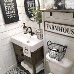 Beautiful Farmhouse Bathroom Design and Decor Ideas You Will Go Crazy - Onechitecture