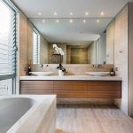 Beautiful Modern Bathroom Designs With With Soft and Neutral Color Decor Ideas