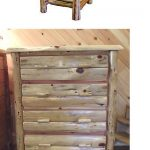 Bedroom Sets 20480: Rustic Red Cedar Log King Size Canopy Bedroom Suite - Amish ...