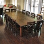 Best 12 Seater Square Dining Table 12 Seat Dining Room Table We Wanted To Keep T...