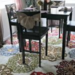 Big Lots Dining Room Makeover Reveal #BigLots #diningroom #burlap #DIY