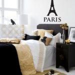 Black White And Gold Bedroom Decor - TopDekoration.com