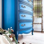 Blueberry Painted French Provincial | Color Blending