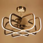 Bucholz 3 Blade LED Ceiling Fan with Remote