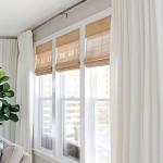 Budget-Friendly Living Room Window Treatments - bingefashion.com/interior