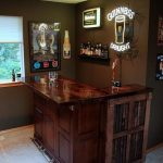 Building Corner Bar For Small Spaces   Built In Corner Bar   Corner Bar Wall Cabinets In the ...