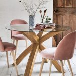 Buy Oak & Glass Round Dining Table from the Next UK online shop