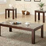 Casual Brown Occasional Table Set - Coaster 700395