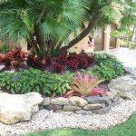 Central Florida Landscaping Ideas | Front Yard Landscape Tropical Landscape Miam...