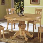 Circular Kitchen Table is a good Choice adorable round wood table in reclaimed and steel legs your tcbxrvr - Furnish Ideas