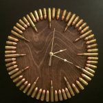 Clocks - Decor : Bullet Clock with inert ammo. Great gift for shooters. - Decor Object   Your Daily dose of Best Home Decorating Ideas & interior design inspiration