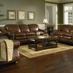 Cool Leather sofa set for living room brown leather sofa set - Elites Home Decor