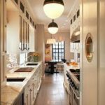 Create A Lovely Galley Kitchen #galleykitchenlayouts Eye For Design: Create A Lo...