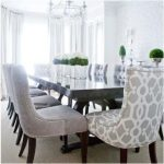 Custom Upholstered Dining Chairs Design Ideas, Pictures, Remodel, and Decor