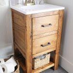 DIY Bathroom Vanity for $65 - Angela Marie Made
