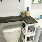 DIY Space Saving Solution For Your Bathroom With No Counter Space