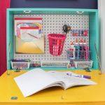 DIY Wall Mounted Desk: Easy Build Drop Down Wall Desk