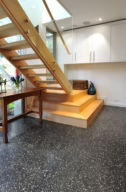 Dalsouple rubber flooring for waterproof protection