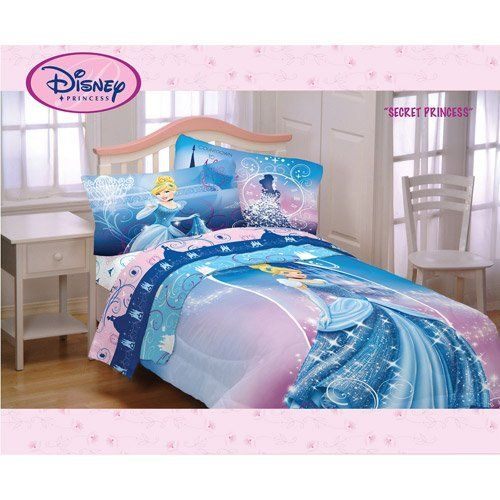 Disney Princess Cinderella Twin/Full Comforter by Disney. $64.88. Fits a twin or…