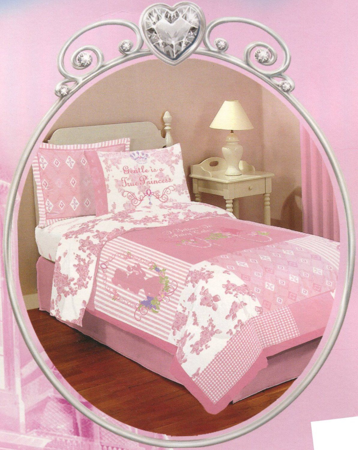 Disney Princess 'Fairy Tale' Full Size Bedding set – 7pcs Bed in a Bag Only $63