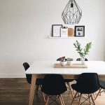 EIFFEL Black Chair with solid beech wood legs | Structube