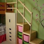 Easy Full Height Bunk Bed Stairs - IKEA Hackers