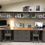 Elegant Home Office Cabinet Design Ideas