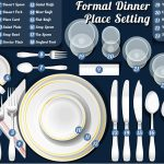 Elegant table setting for individual ideas at dinner - Home Interior Design Ideas