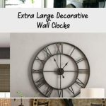 Extra Large Decorative Wall Clocks
