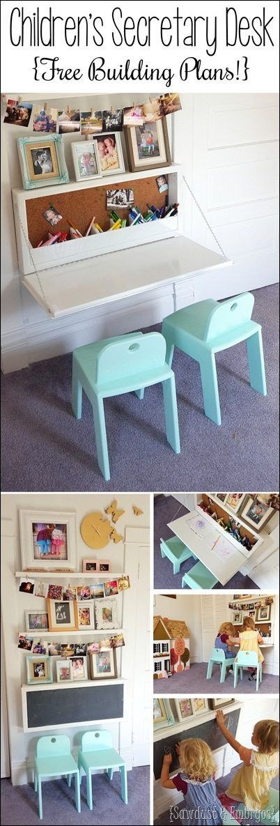 FREE Children's Secretary Desk Building Plans – Homeschool Giveaways